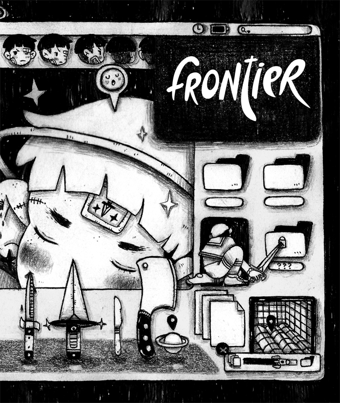 FRONTIER #12, PUBLISHED BY YOUTH IN DECLINE