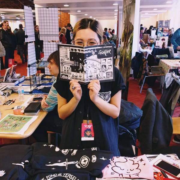 ME @ TCAF :^D photo by @youthindecline